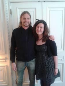 Me with Mikko Von Hertzen