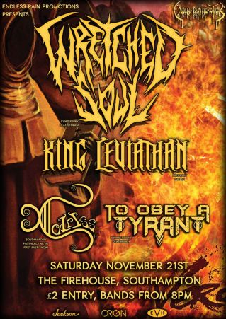 wretched soul tour poster