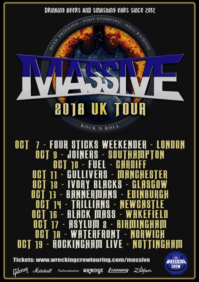 Massive UK TOUR copy web