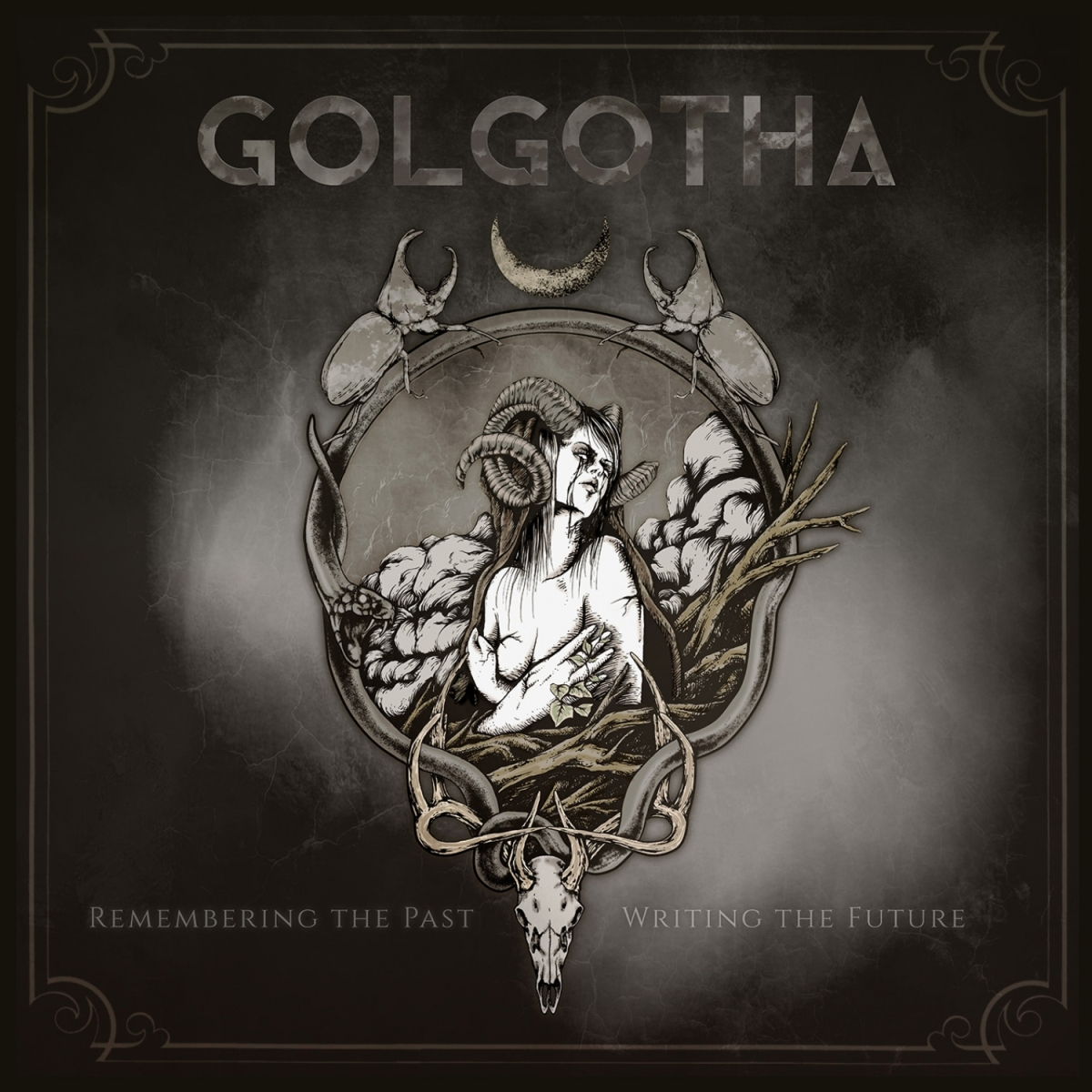 album review golgotha  remembering the past writing the